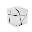 Caixa de som sem fio - Falante Air ama Bluetooth estéreo mini alto - falante cubo branco