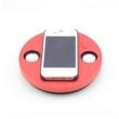 Caixa de som sem fio - Hardaway telefone mini alto - falante portátil por indução sem fios amplificador de som mágico vermelho