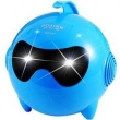 Caixa de som sem fio - Megtron mini - USB mini - estéreo Personalidade luminosos Speakers azul Computador