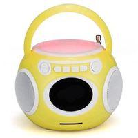 Caixa de som sem fio - Mini - amarelo Megtron rádio sem fio Bluetooth portátil mini - falante estéreo ao ar livre