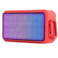Caixa de som sem fio - Qin longo ROYQUEENT600XL telefone sem fio Bluetooth alto - falante estéreo mini cartão vermelho portátil