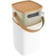 Caixa de som sem fio - ROCHA Locke sem fio Bluetooth Speaker Car Telefone laptop marrom áudio portátil