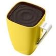 Caixa de som sem fio - sem fio Bluetooth estéreo copos do companheiro amarelo