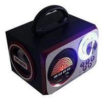 Caixa de som sem fio - SENBOWE apoio orador placa de rádio FM MP3 player portátil