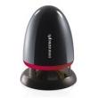 Caixa de som sem fio - Yayun Shi usb secretária A801 ? ? multimídia mini - estéreo LED colorido preto e vermelho