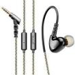 Fone de ouvido - Pirro fone de ouvido de ouro estilo ouvido CD - ouvido com fio preto orelha do