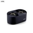 Caixa de som sem fio - Falante Ling gramas LKer Bluetooth alto - falante Bluetooth sem fio de metal preto com excesso de peso