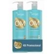 Kit Shampoo + Condicionador Reparador Hidratante com Óleo de Argan do Marrocos ( 01.081 ) - Yenzah