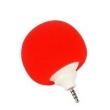 Caixa de som sem fio - Mini - falantes Matcheasy esponja bola bola pequenos alto - falantes do telefone vermelho