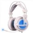Fone de ouvido - Siders Sades vibração fone de ouvido branco