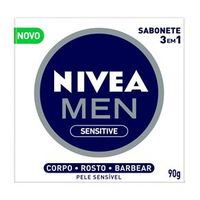 Sabonete 3 em 1 Nivea Men Sensitive