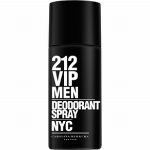 Desodorante Spray 212 Vip Men Masculino 150 ml - Carolina Herrera