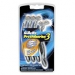 Aparelho de Barbear Gillette Prestobarba3 4 Unidades