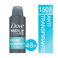 Desodorante Antitranspirante Aerosol Dove MEN+CARE Clean Comfort
