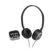 Kit Coby com 2 Fones de Ouvido Headphone & Earphone Preto com Prata