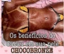 Bronzeamento de chocolate