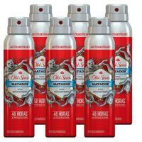 Desodorante Aerosol Antitranspirante Matador 93g - Old Spice 6 unidades