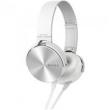 Fone de Ouvido com Microfone 1000Mw Mdr - Xb450Ap Branco Sony
