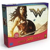 Puzzle Grow Mulher Maravilha - 500 Peças