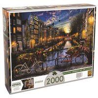 Puzzle Grow Verão em Amsterdã - 2000 Peças