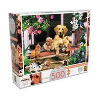 Quebra - cabeça 500 Peças Bichos na Varanda Grow - 2490