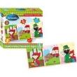 Quebra Cabeça Clássicos Infantis - Chapeuzinho Vermelho 21 Peças em Madeira - Nig 43401