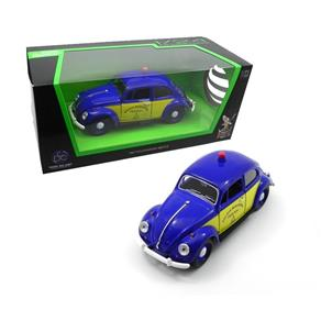 1967 VOLKSWAGEN BEETLE FUSCA POLICIA RODOVIARIA DO BRASIL 1 / 24 CALIFORNIA COLLECTIBLES