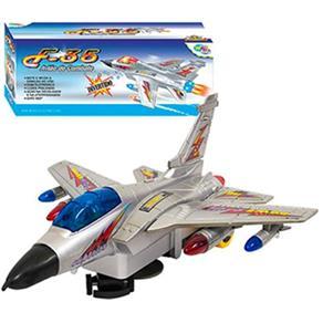 Avião de Combate F - 35 c / Som e Luz à Pilha