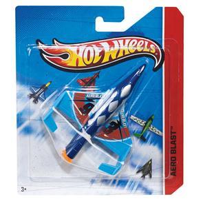 Avião SkyBuster Hot Wheels Mattel Aero Blast
