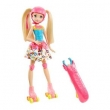 Barbie Articulada 30 Cm - Barbie Video Game Hero - Patinadora com Luzes - Mattel
