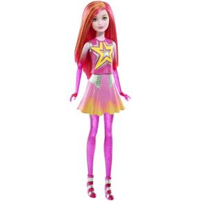 Barbie Aventura Nas Estrelas Gêmea Rosa Galáctica Mattel - DLT27