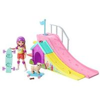 Barbie Família Chelsea Pista de Skate - Mattel