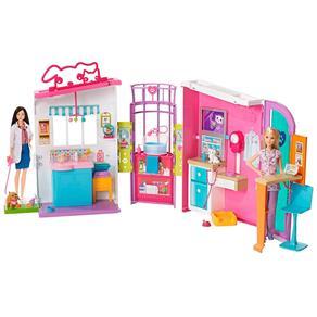 Barbie Família Hospital Dos Bichinhos - Mattel