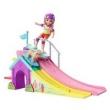Barbie Family - Boneca Chelsea com Pista de Skate Fbm99
