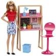 Barbie - Móvel com Boneca - Escritório Dvx52