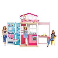 Barbie Real Casa Com Boneca - Mattel
