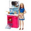 Barbie Real Cozinha Com Boneca - Mattel