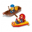Barco Bombeiro - 48 peças