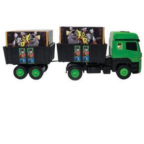 Ben 10 Caminhão Bi - Trem Com 2 Cargas