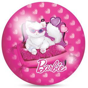 Bola Infantil em Vinil Barbie Rosa Decorada 543 - Lider