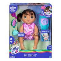 Boneca Baby Alive Hora Do Passeio Morena - C2689 - Hasbro