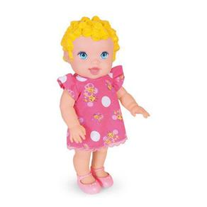 BONECA BABYS COLLECTION FAZ XIXI SUPER TOYS