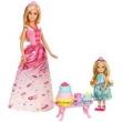 Boneca Barbie Dreamtopia com Chelsea - Festa do Chá Fdj19