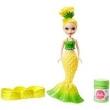 Boneca Barbie Dreamtopia - Mini Sereia Bolhas Mágicas Amarela Dvm99