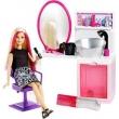 Boneca Barbie Fashion Salão Estilo e Brilho DTK04 - Mattel