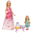 Boneca Barbie Mattel Dreamtopia Reinos dos Doces - A Hora do Chá