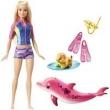 Boneca Barbie Mattel Mergulhando com Bichinhos