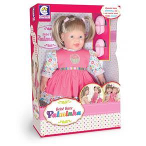 Boneca Bebê Bate Palminha - Cotiplás 1993
