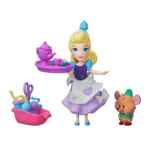 Boneca Cinderela com Amigo - Mini Reino Princesas Disney - Hasbro