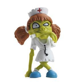 Boneca Colecionável Zombiezz DTC Nurse Moulder Com Borracha Macia